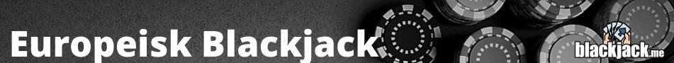 europeisk blackjack