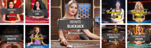 Live Blackjack Providers